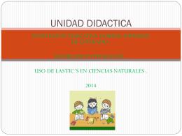 UNIDAD DIDACTICA CIENCIAS CARLOS (503247)