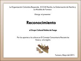 Reconocimiento - portal ird colombia