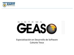 Presentacion GEAS