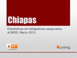 Estadísticas de Trabajadores Asegurados al IMSS