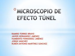 Microscopio de Efecto Tunel - ciencia