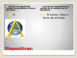 Diapositivas: