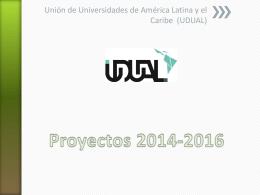 Proyectos 2014-2016