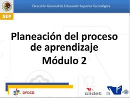 10. Planeacion del Proceso de Aprendizaje