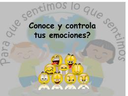 Diapositiva 1 - Tus Emociones