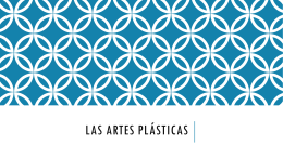 Las artes plásticas