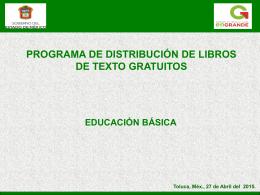 Estado de México - Comisión Nacional de Libros de Texto Gratuitos