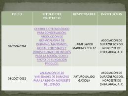Diapositiva 1 - Chihuahua - Fundación Produce Chihuahua
