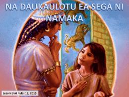 NA CINA KA CINAVA NA NODA SALA Vosavakaibalebale 6:22