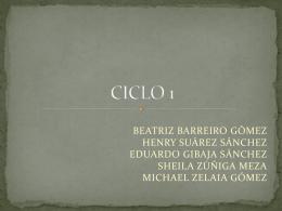 CICLO 1