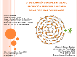 Diapositiva 1 - Colegio oficial de Psicólogos de La Rioja