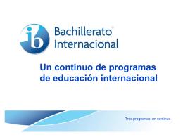 ib2010 - Saint John´s School