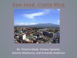 Spanish Costa Rican Powerpoint