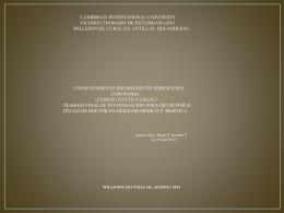Consentimiento Informado en Fibrinolisis Coronaria. Conficto Etico