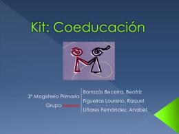 kit - coeducación