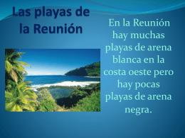 Las playas de la Reunión
