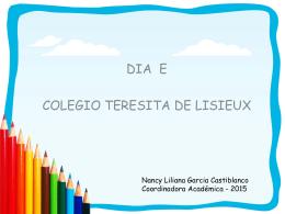 click aca - Colegio Teresita de Lisieux
