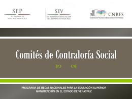 Presentación Power Point Contraloría Social