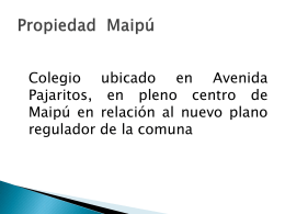Propiedad Maipú