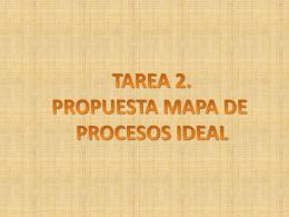 tarea 2. propuesta mapa de procesos ideal