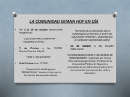 Programa - Fundación Secretariado Gitano