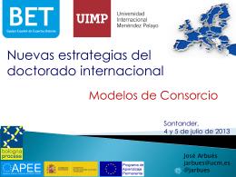 Modelos de Consorcios.