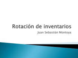 Rotación de inventarios