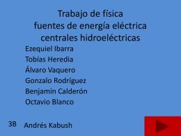 Trabajo de física fuente de energía eléctrica