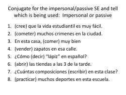 Vocabulario 3-2: En la ciudad