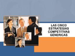 Capitulo 5 las cinco estrategias competitivas genéricas