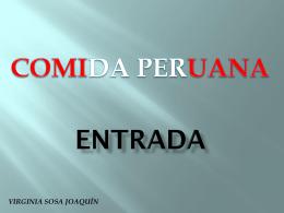 COMIDA PERUANA - Fatla-REV