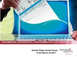 0802 11 Presentación Legis documentos electrónicos en