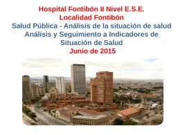 Diapositiva 1 - Hospital de Fontibón