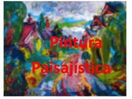 Pintura Paisajística