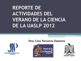 dralizyveranodelaciencia2012 - Portal UASLP