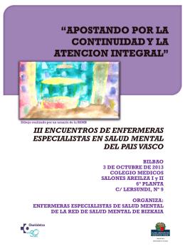 III ENCUENTROS DE ENFERMERAS ESPECIALISTAS EN SALUD