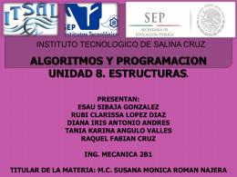 UNIDAD 8 DE PROGRAMACION RAQUEL Y EQUIPO 2B1