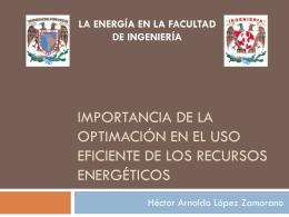 Importancia de la optimación en el uso eficiente de los recursos