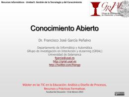 20110802 - Conocimiento abierto