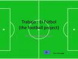 El Fútbol project