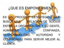EXPOSICION DE ORGANIZACIONES