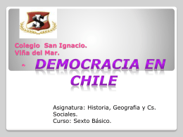 democracia en chile 6to a