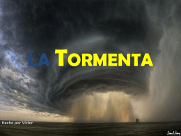 LA TORMENTA - WordPress.com