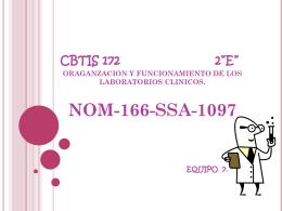 """cbtis 172 2""""e"""" oraganzacion y funcionamiento de los laboratorios"""