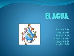 EL AGUA. - secu72gpo7