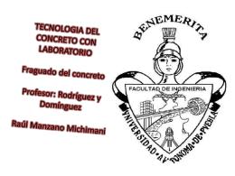 TRCNOLOGIA DEL CONCRETO CON LABORATORIO