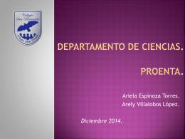 Cs y proenta - Colegio San Bernardo