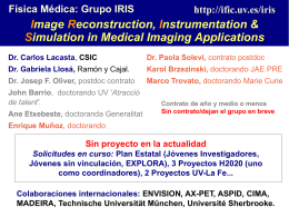 Image Reconstruction, Instrumentation & Simulation in
