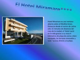El Hotel Miramare