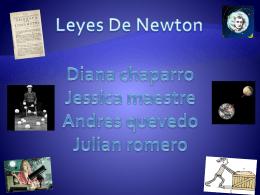 Leyes del movimiento de Newton